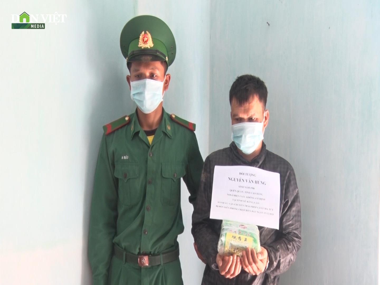 Kon Tum đã xác định được tên người vận chuyển 1kg ma túy từ Lào về Việt Nam - Ảnh 2.