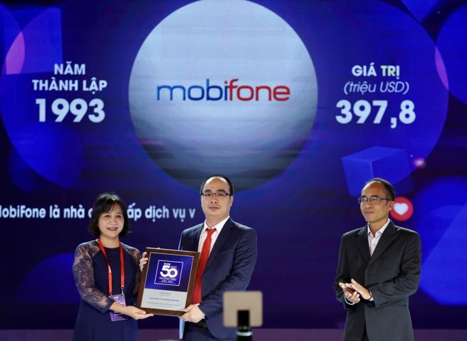 MobiFone được vinh danh top 6 thương hiệu dẫn đầu 2020 do Forbes bình chọn - Ảnh 1.