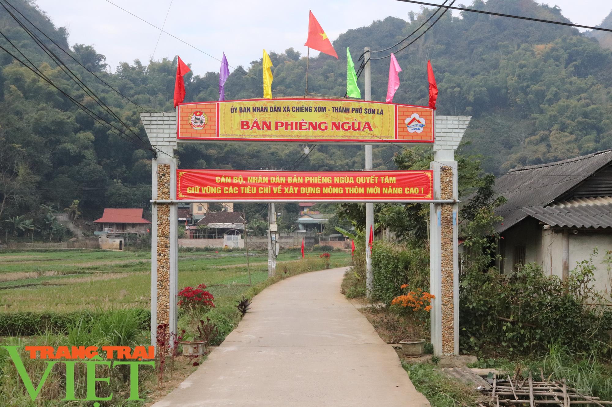 Sơn La có xã đầu tiên đạt chuẩn nông thôn mới nâng cao - Ảnh 2.