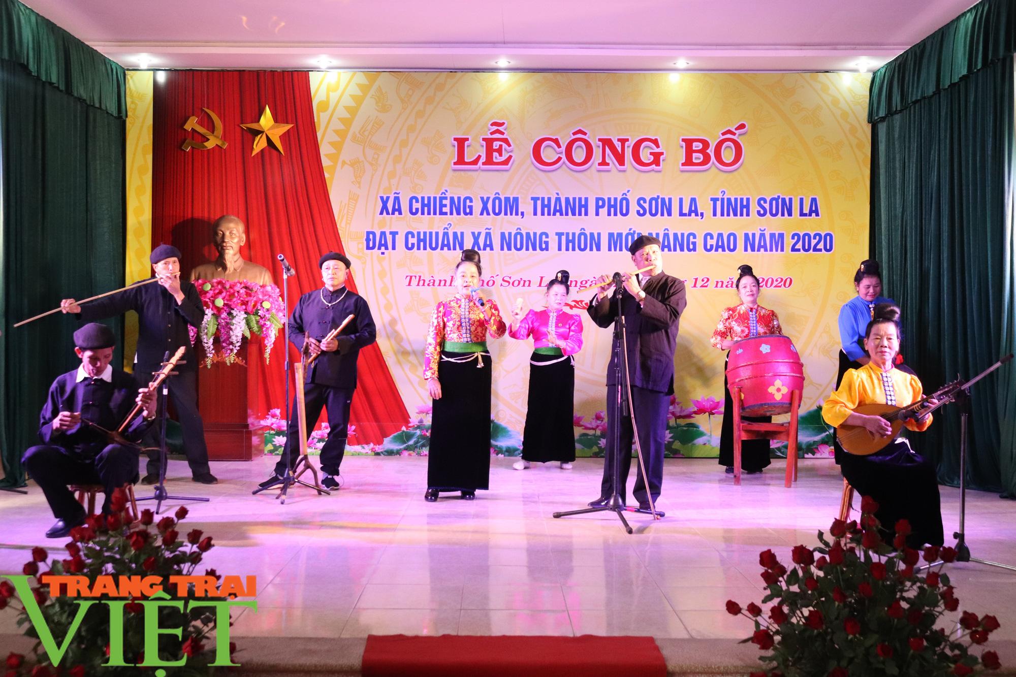 Sơn La có xã đầu tiên đạt chuẩn nông thôn mới nâng cao - Ảnh 1.