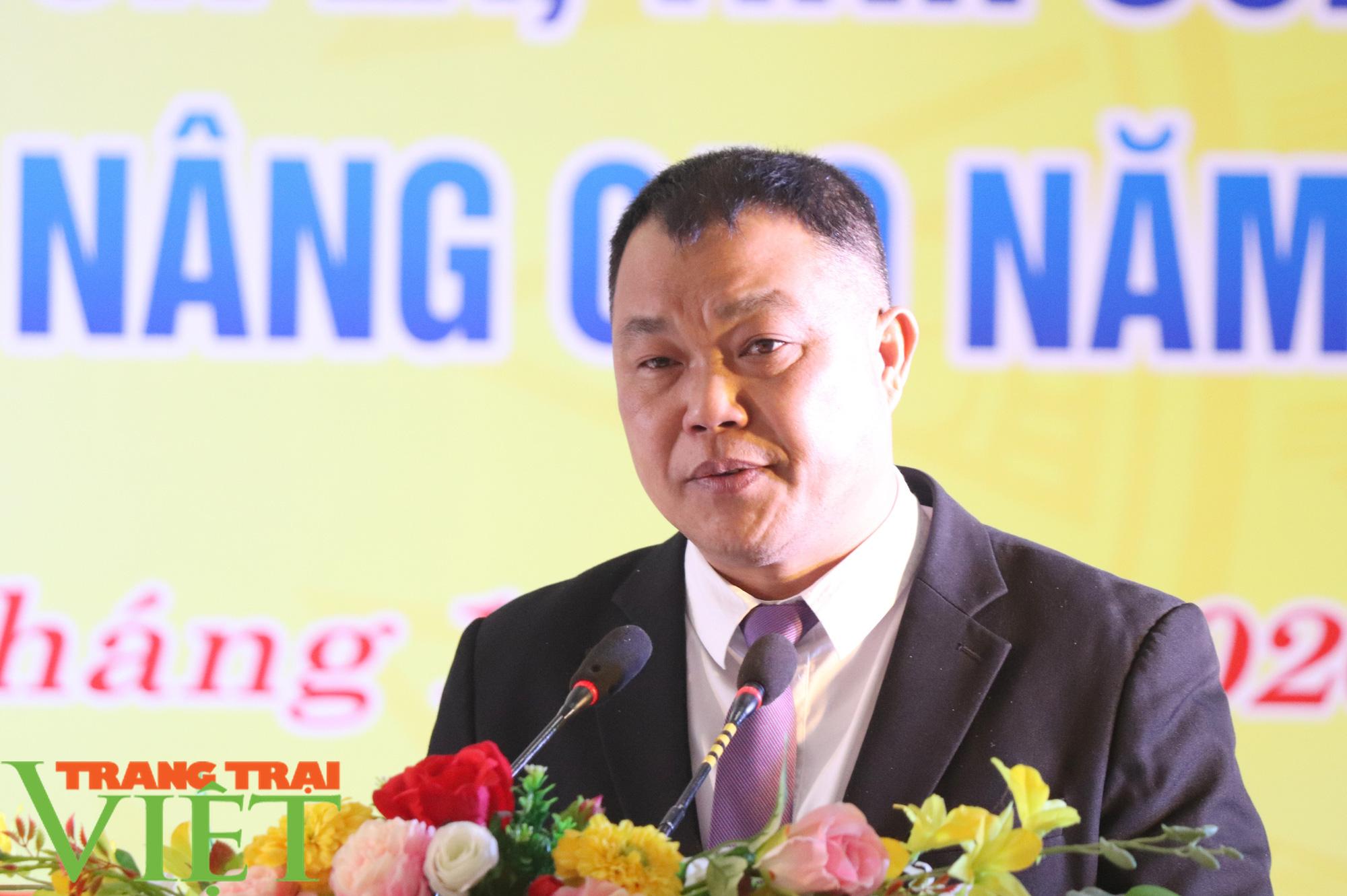 Sơn La có xã đầu tiên đạt chuẩn nông thôn mới nâng cao - Ảnh 4.