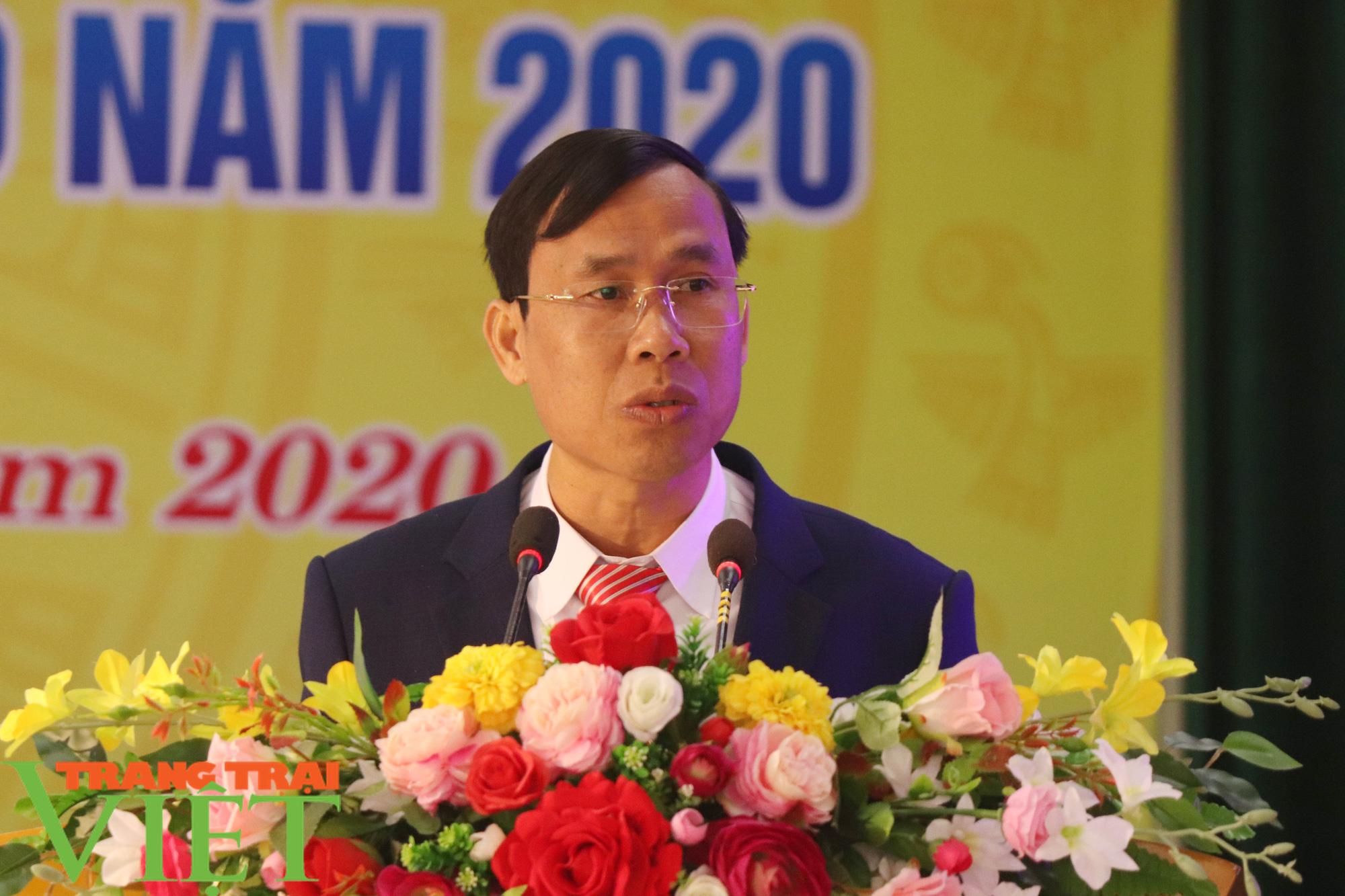 Sơn La có xã đầu tiên đạt chuẩn nông thôn mới nâng cao - Ảnh 9.