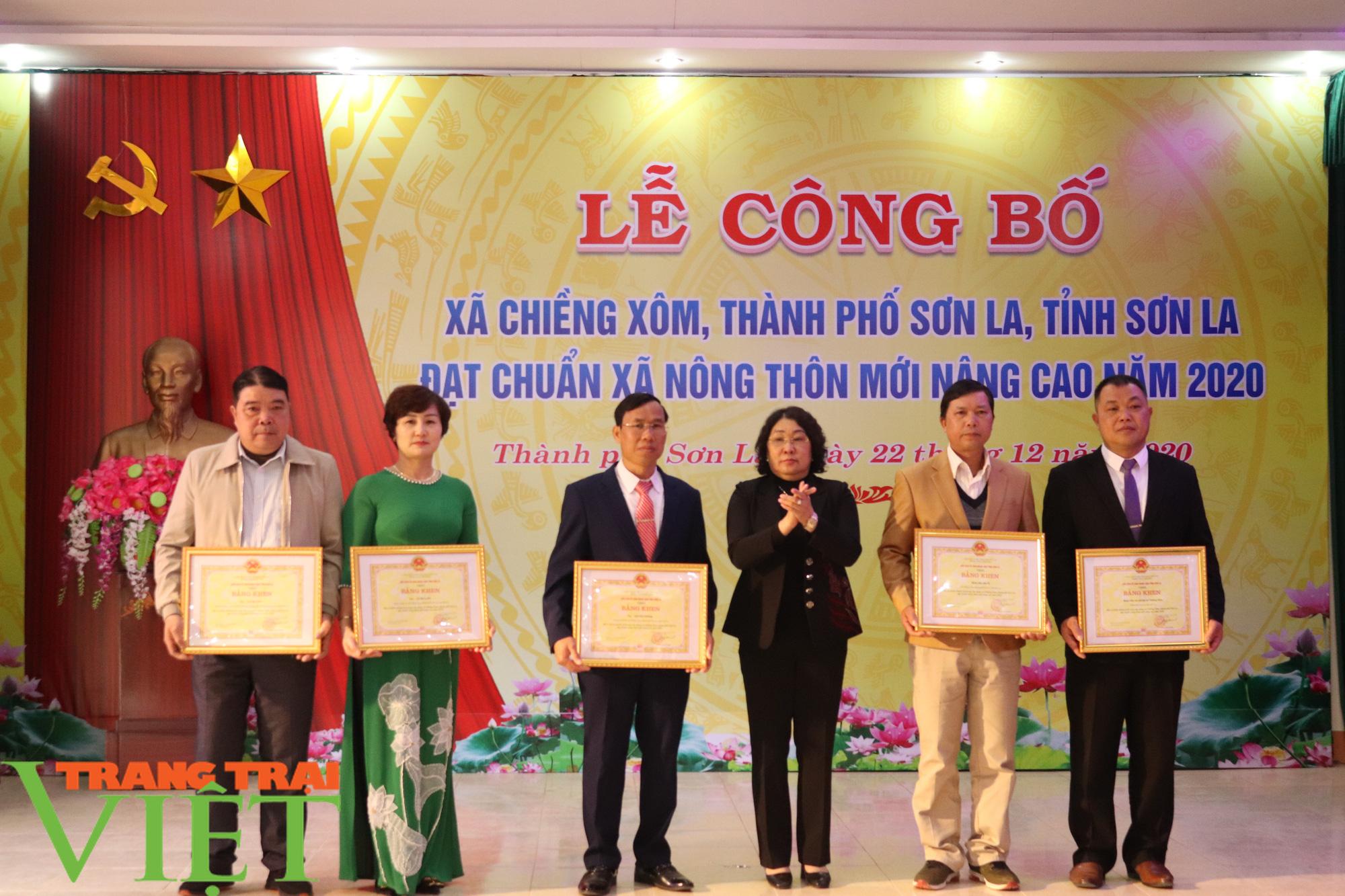Sơn La có xã đầu tiên đạt chuẩn nông thôn mới nâng cao - Ảnh 10.