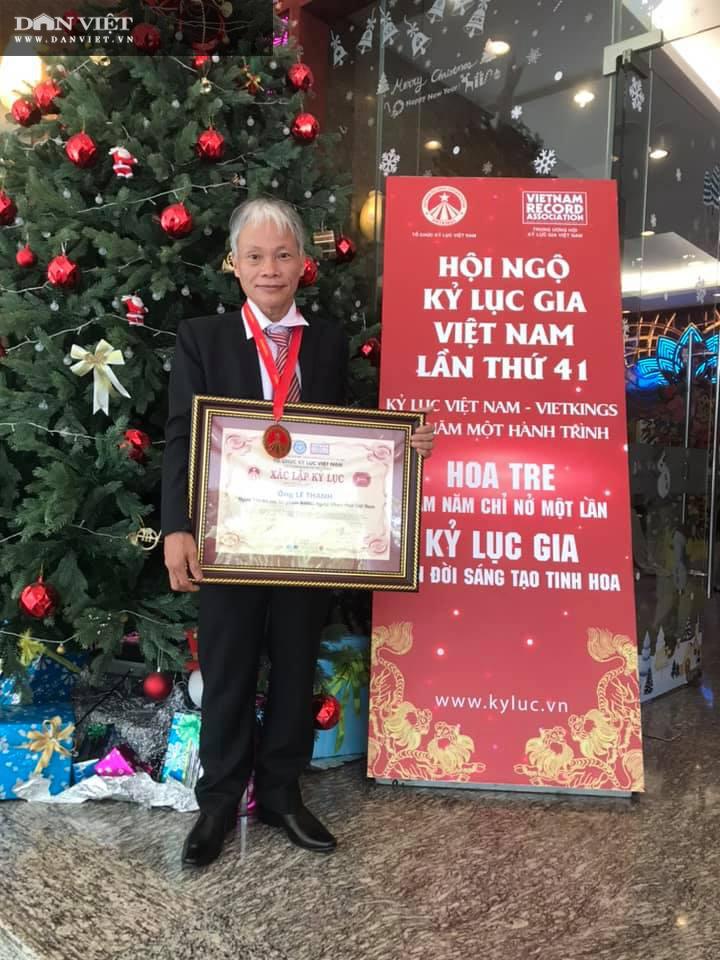 Dị nhân ở Quảng Nam có hàng trăm cây bonsai ngược được xác nhận kỷ lục Việt Nam - Ảnh 6.