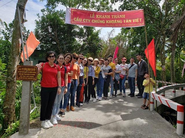 Công ty chứng khoán Tân Việt đồng hành sẻ chia với cộng đồng - Ảnh 1.