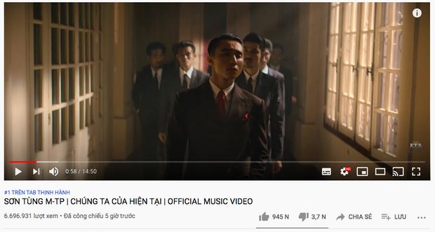 """Vì sao """"Chúng ta của hiện tại"""" của Sơn Tùng MTP leo top trending YouTube và số 1 Châu Á sau vài giờ? - Ảnh 3."""