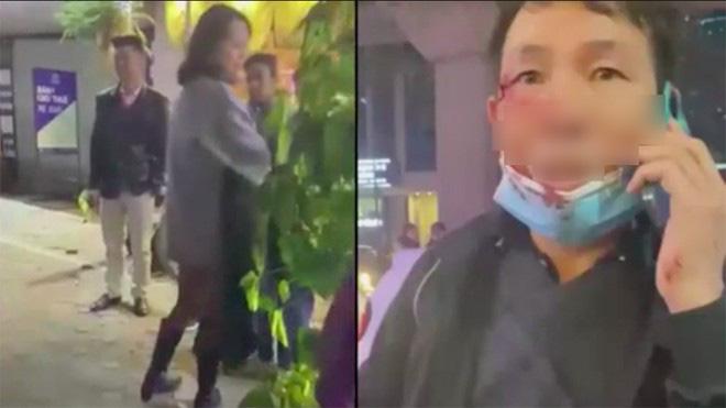 Cô gái trẻ say xỉn lăng mạ, đánh vào mặt tài xế taxi - Ảnh 1.