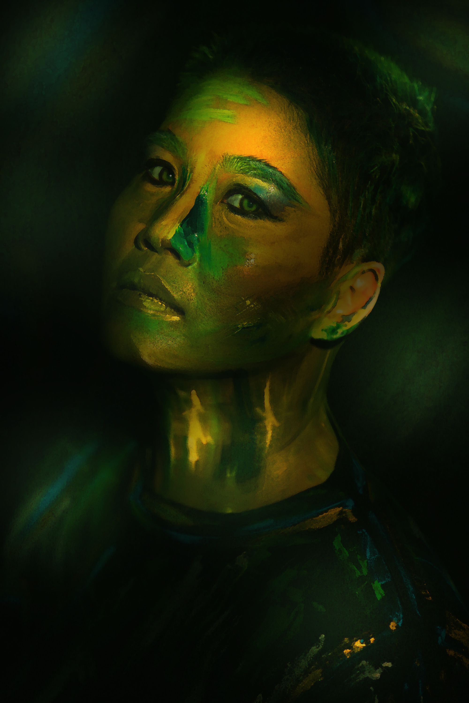 """Live - Colors: Giới trẻ thích thú với trào lưu """"biến"""" mình thành tranh - Ảnh 10."""