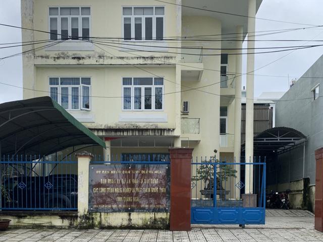 """Quảng Ngãi: Sáp nhập 2 Ban quản lý dự án """"ngàn tỷ"""" trực thuộc tỉnh  - Ảnh 2."""