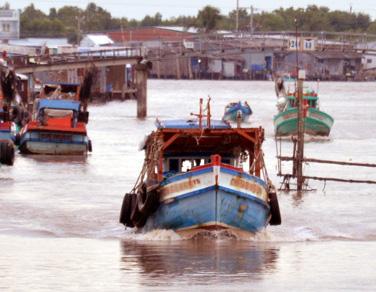 Cà Mau: Một thuyền trưởng tàu cá bị phạt 630 triệu đồng - Ảnh 1.