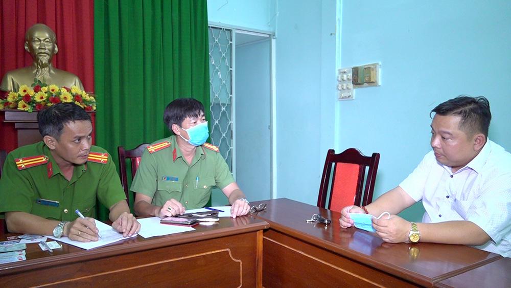 Giả danh cán bộ Bộ Công an đến Công an tỉnh An Giang xác minh xe - Ảnh 1.