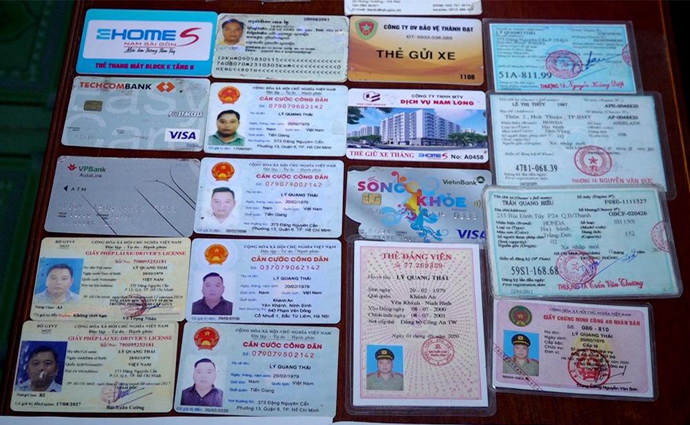 Giả danh cán bộ Bộ Công an đến Công an tỉnh An Giang xác minh xe - Ảnh 2.