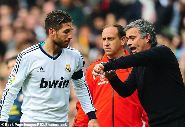 Mourinho từng có 3 năm làm thầy của Ramos.
