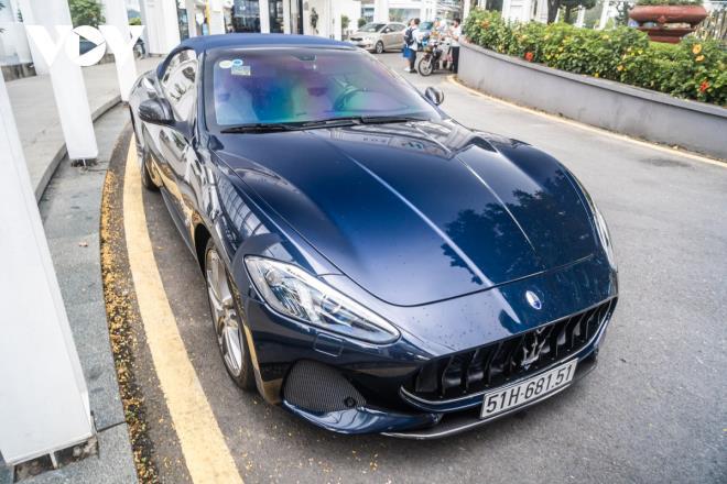 Cận cảnh Maserati GranCabrio Sport hàng hiếm tại Việt Nam - Ảnh 1.