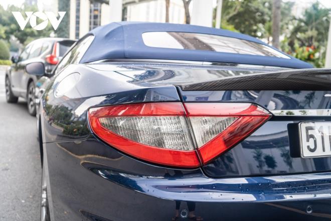 Cận cảnh Maserati GranCabrio Sport hàng hiếm tại Việt Nam - Ảnh 10.