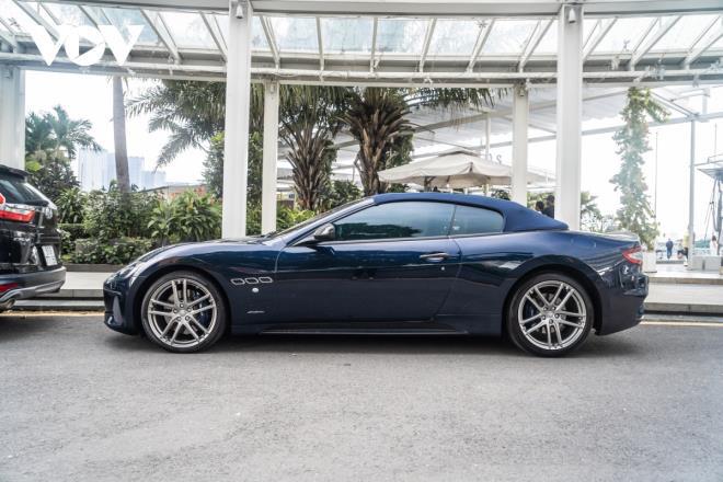 Cận cảnh Maserati GranCabrio Sport hàng hiếm tại Việt Nam - Ảnh 2.
