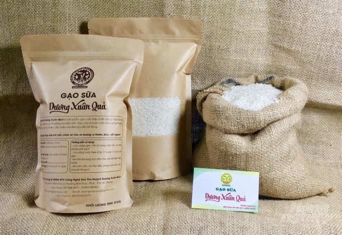 Hiệu quả mô hình trồng lúa bằng sữa tươi - Ảnh 3.