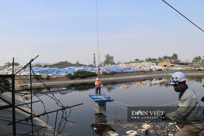 Cận cảnh khu thí điểm xử lý mùi bãi rác Nam Sơn bằng công nghệ Bio nano của Nhật Bản - Ảnh 5.