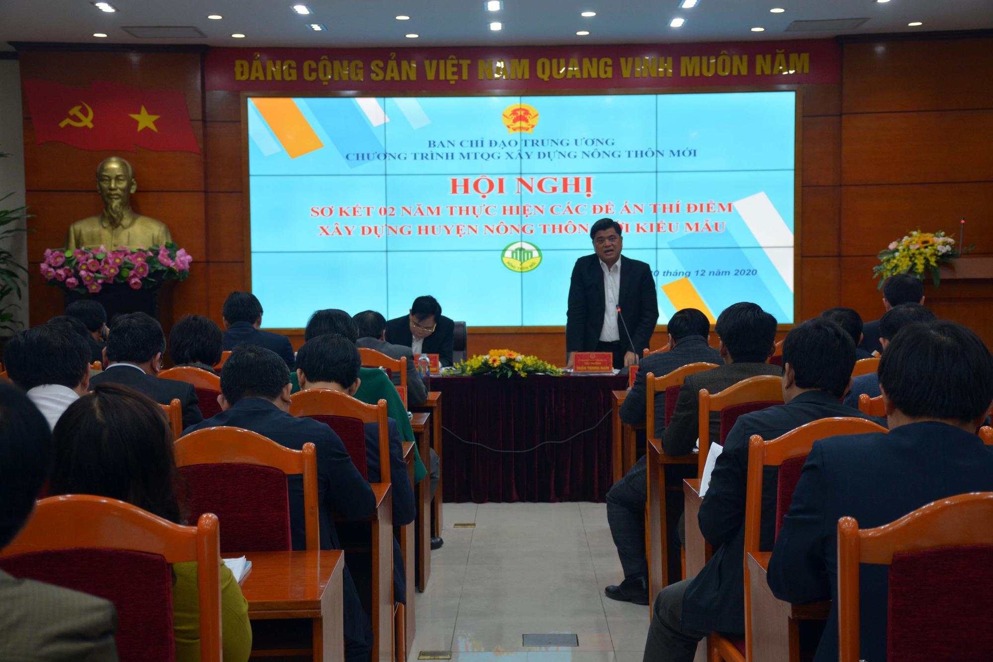 Bộ trưởng Nguyễn Xuân Cường: Kinh tế nông thôn phải bứt phá, tăng thu nhập và giảm nghèo cho nông dân