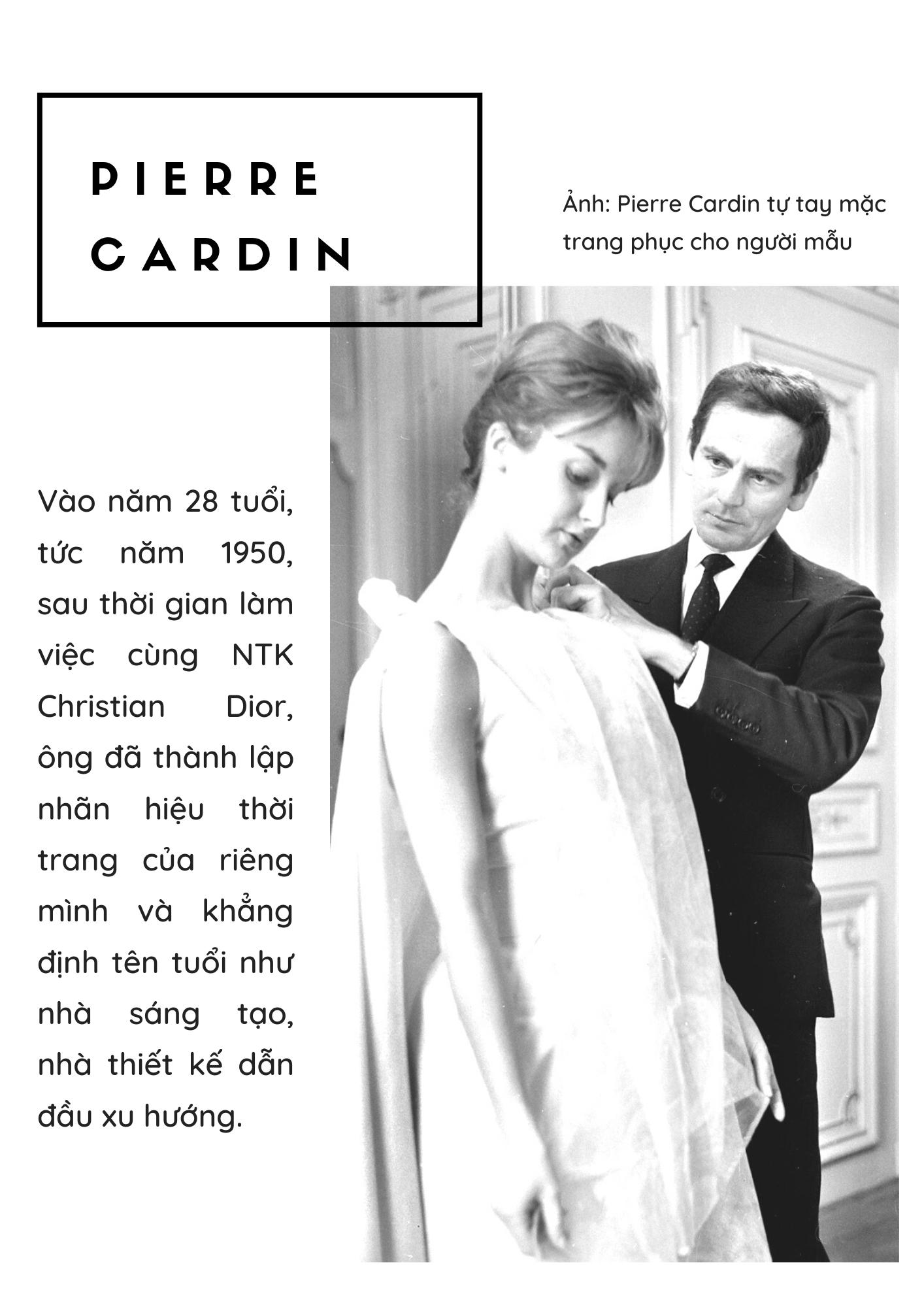 Huyền thoại Pierre Cardin: câu chuyện thương hiệu cá nhân và khối tài sản 800 triệu USD cuối đời - Ảnh 1.