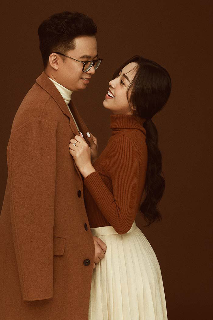 Bộ ảnh cưới siêu ngọt ngào của Á hậu Thuý An khiến khán giả ngất ngây - Ảnh 6.