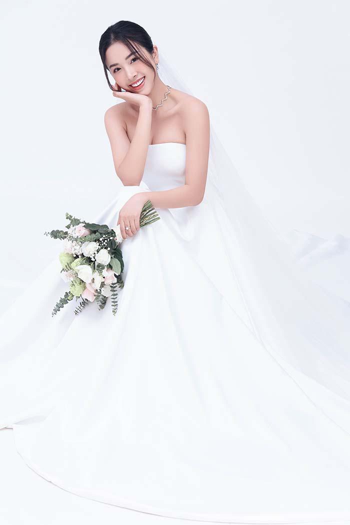 Bộ ảnh cưới siêu ngọt ngào của Á hậu Thuý An khiến khán giả ngất ngây - Ảnh 4.
