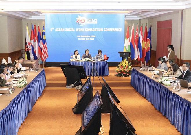 """""""Thúc đẩy Công tác xã hội vì một ASEAN gắn kết và hòa nhập"""" - Ảnh 1."""