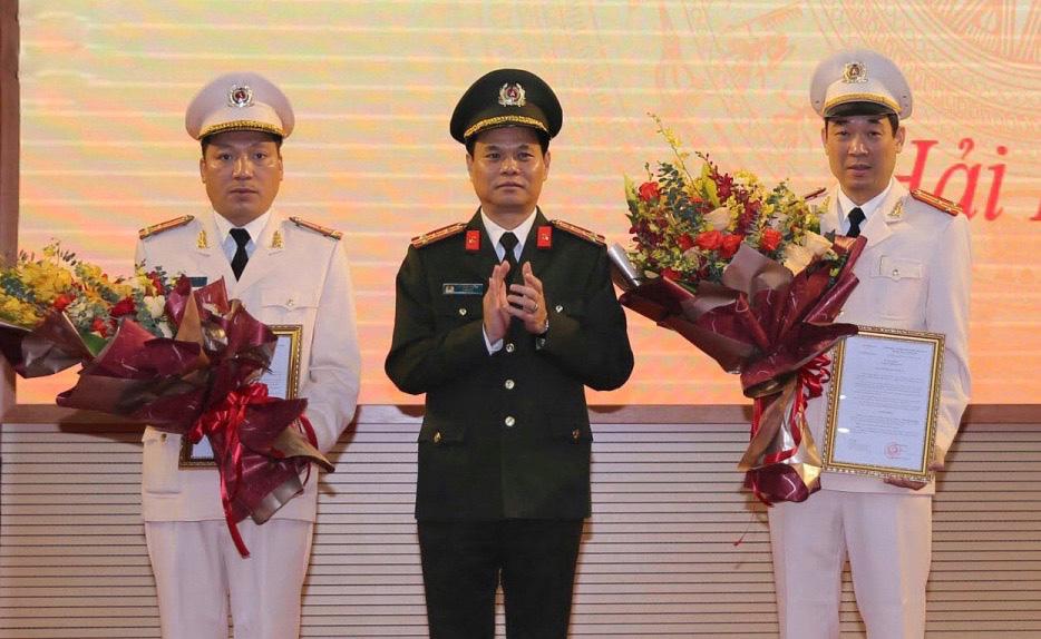 2 tân Phó giám đốc công an tỉnh Hải Dương mới được bổ nhiệm là ai? - Ảnh 1.