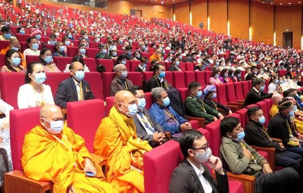 Đại hội đại biểu toàn quốc các DTTS Việt Nam lần thứ II: Biểu tượng sinh động nhất về sự đoàn kết các dân tộc - Ảnh 6.