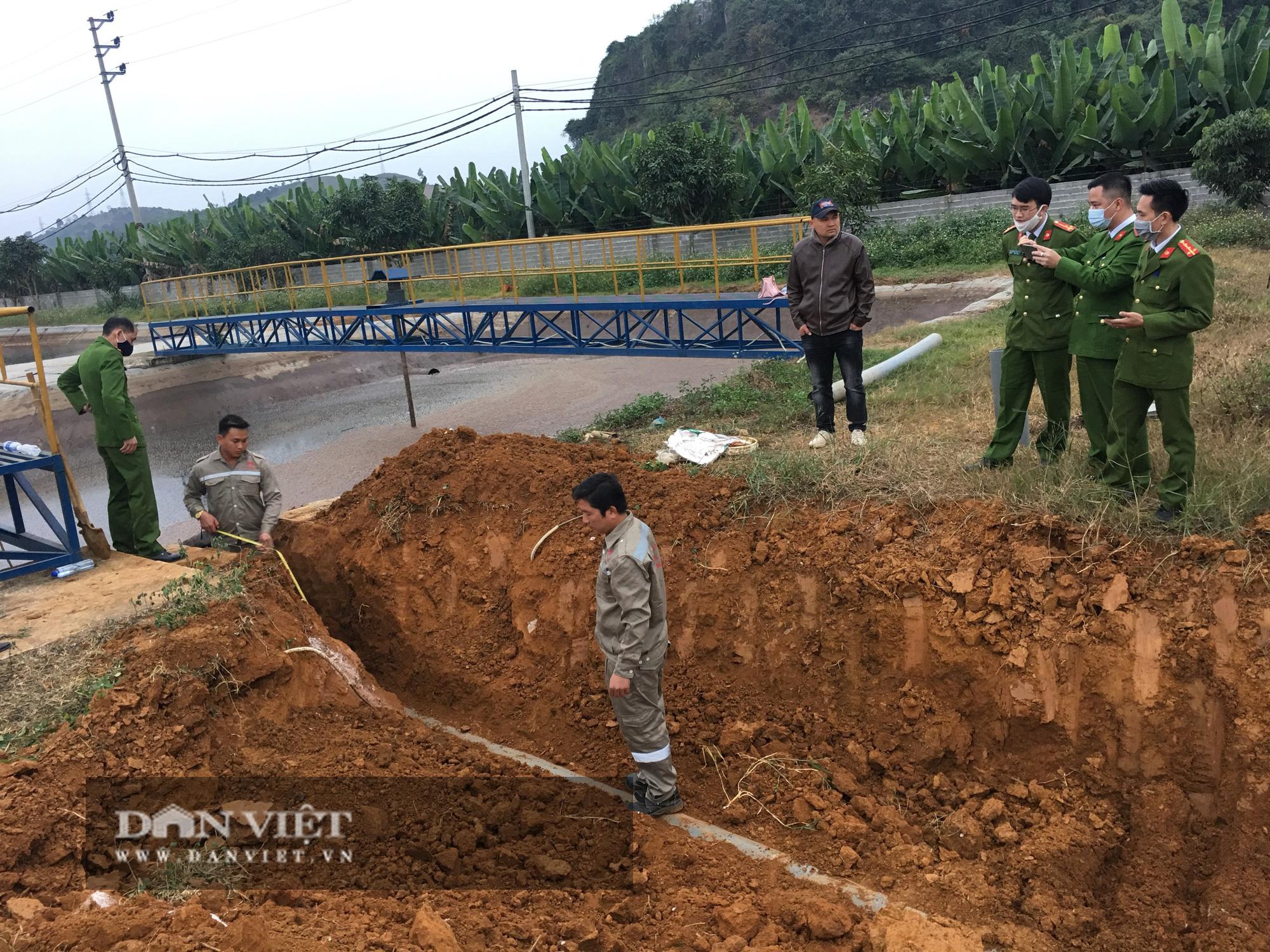 Bắt quả tang Cty CP chế biến nông sản BHL Sơn La có dấu hiệu xả thải chưa đúng quy định - Ảnh 3.