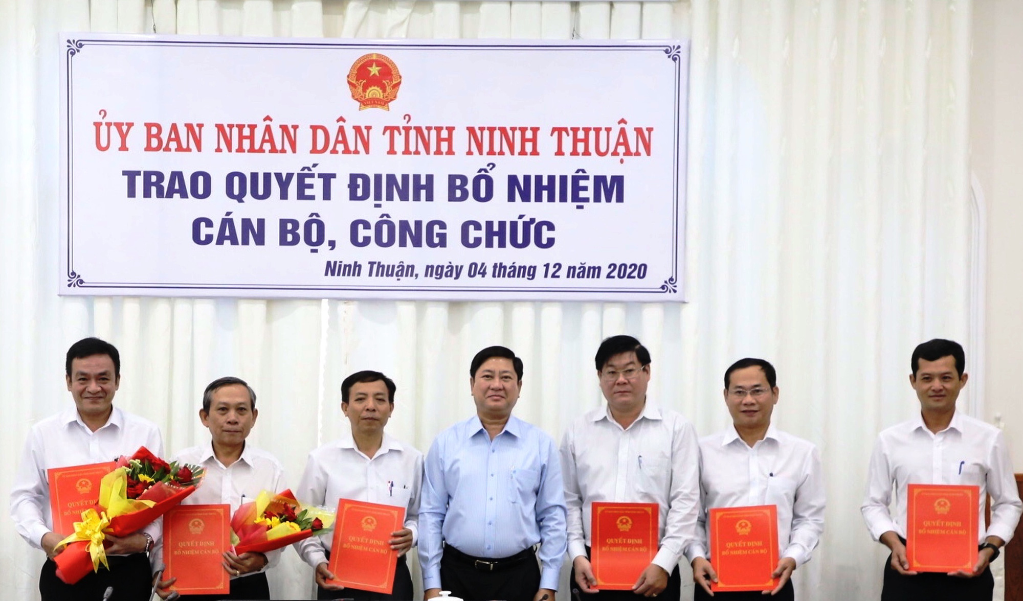 Ninh Thuận: Bổ nhiệm nhiều cán bộ chủ chốt - Ảnh 1.