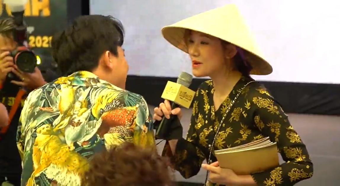 """Trấn Thành sững sờ vì Hari Won xông tới sự kiện, tuyên bố đánh ghen với """"tiểu tam"""" - Ảnh 2."""