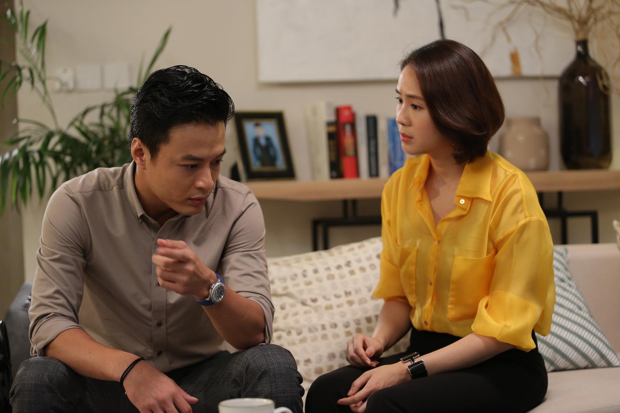 """Hồng Đăng - Hồng Diễm cặp đôi vàng yêu nhau ngay từ đầu phim """" """"Hướng dương ngược nắng"""" - Ảnh 1."""