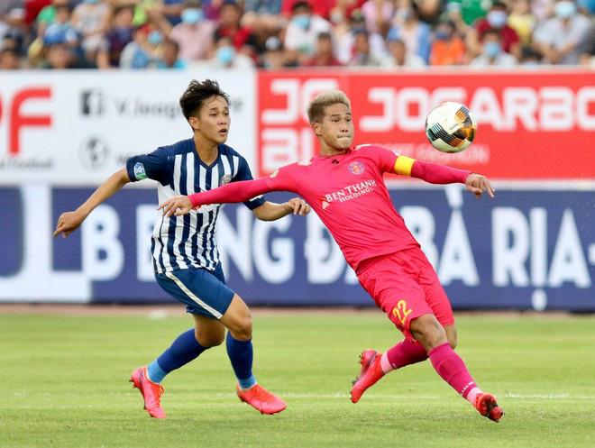 Hà Nội FC chiêu mộ cầu thủ thứ 4 từ Sài Gòn FC - Ảnh 1.