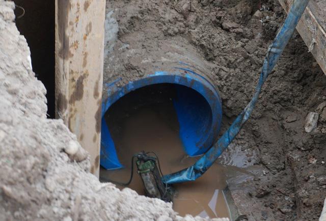 Cận cảnh công trình tách nước thải khỏi sông Tô Lịch - Ảnh 9.