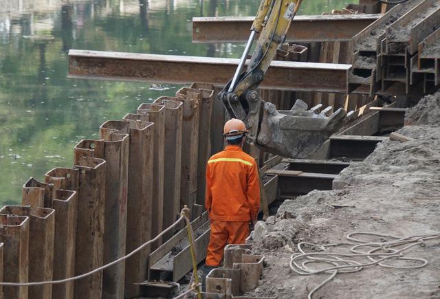 Cận cảnh công trình tách nước thải khỏi sông Tô Lịch - Ảnh 6.