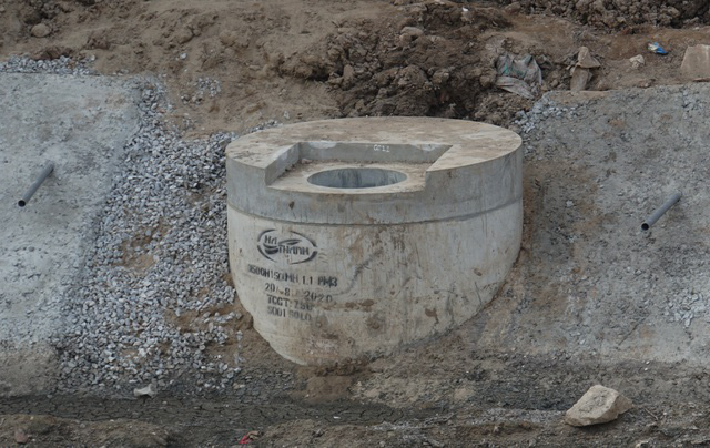 Cận cảnh công trình tách nước thải khỏi sông Tô Lịch - Ảnh 13.