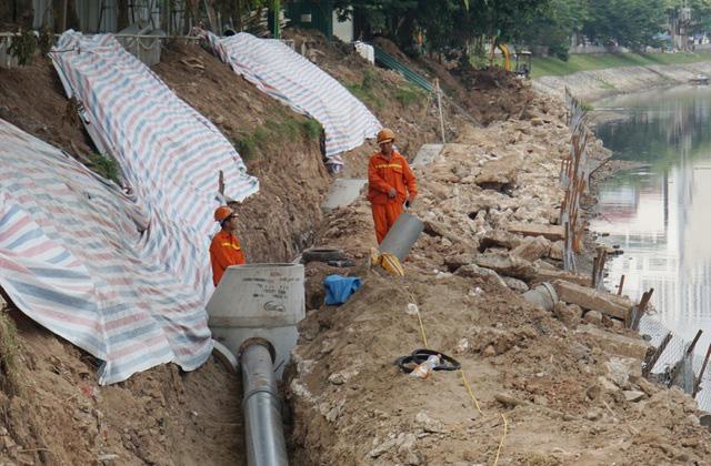 Cận cảnh công trình tách nước thải khỏi sông Tô Lịch - Ảnh 11.