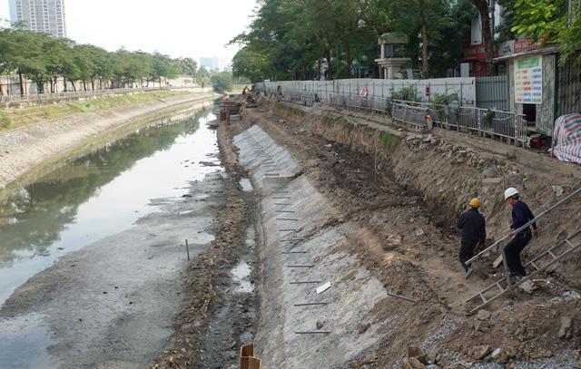 Cận cảnh công trình tách nước thải khỏi sông Tô Lịch - Ảnh 15.