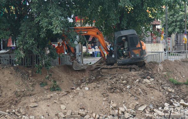 Cận cảnh công trình tách nước thải khỏi sông Tô Lịch - Ảnh 3.