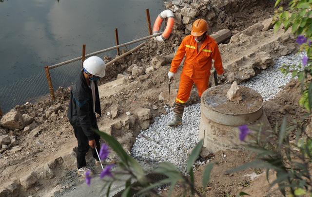 Cận cảnh công trình tách nước thải khỏi sông Tô Lịch - Ảnh 10.