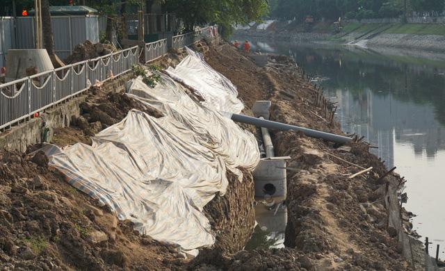 Cận cảnh công trình tách nước thải khỏi sông Tô Lịch - Ảnh 4.