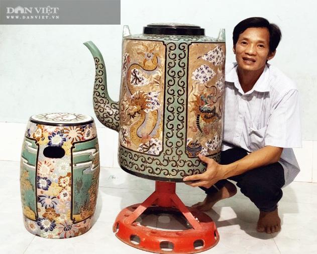 Bảo tàng cá nhân về gốm sứ kích thước khủng của thầy giáo miền Tây - Ảnh 2.