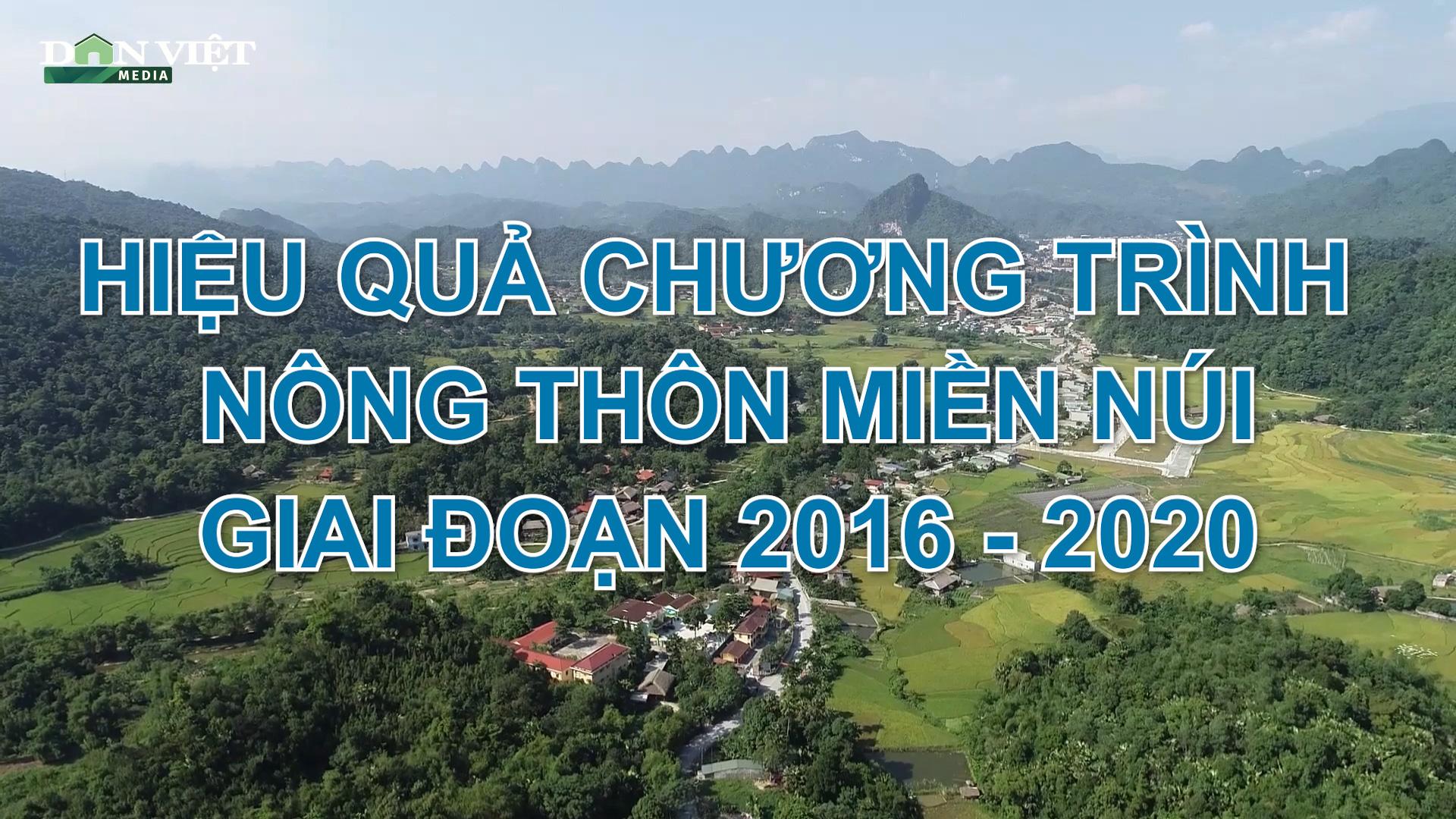 Tọa đàm trực tuyến với chủ đề: Hiệu quả chương trình Nông thôn miền núi giai đoạn 2016-2020 - Ảnh 2.