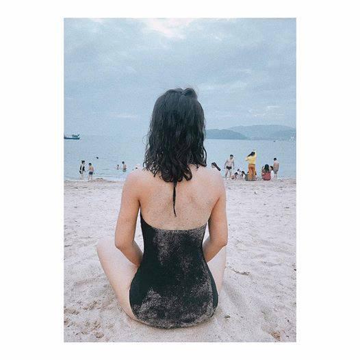Vẻ quyến rũ của BTV Quỳnh Hoa - mỹ nhân mới dẫn thời sự VTV hiếm hoi mặc bikini nóng bỏng - Ảnh 3.