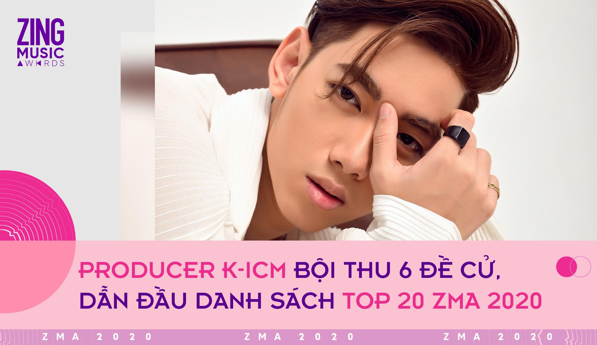 Top 20 giải Zing Music Awards: Binz là rapper có nhiều đề cử nhất, K-ICM vượt mặt Jack - Ảnh 2.