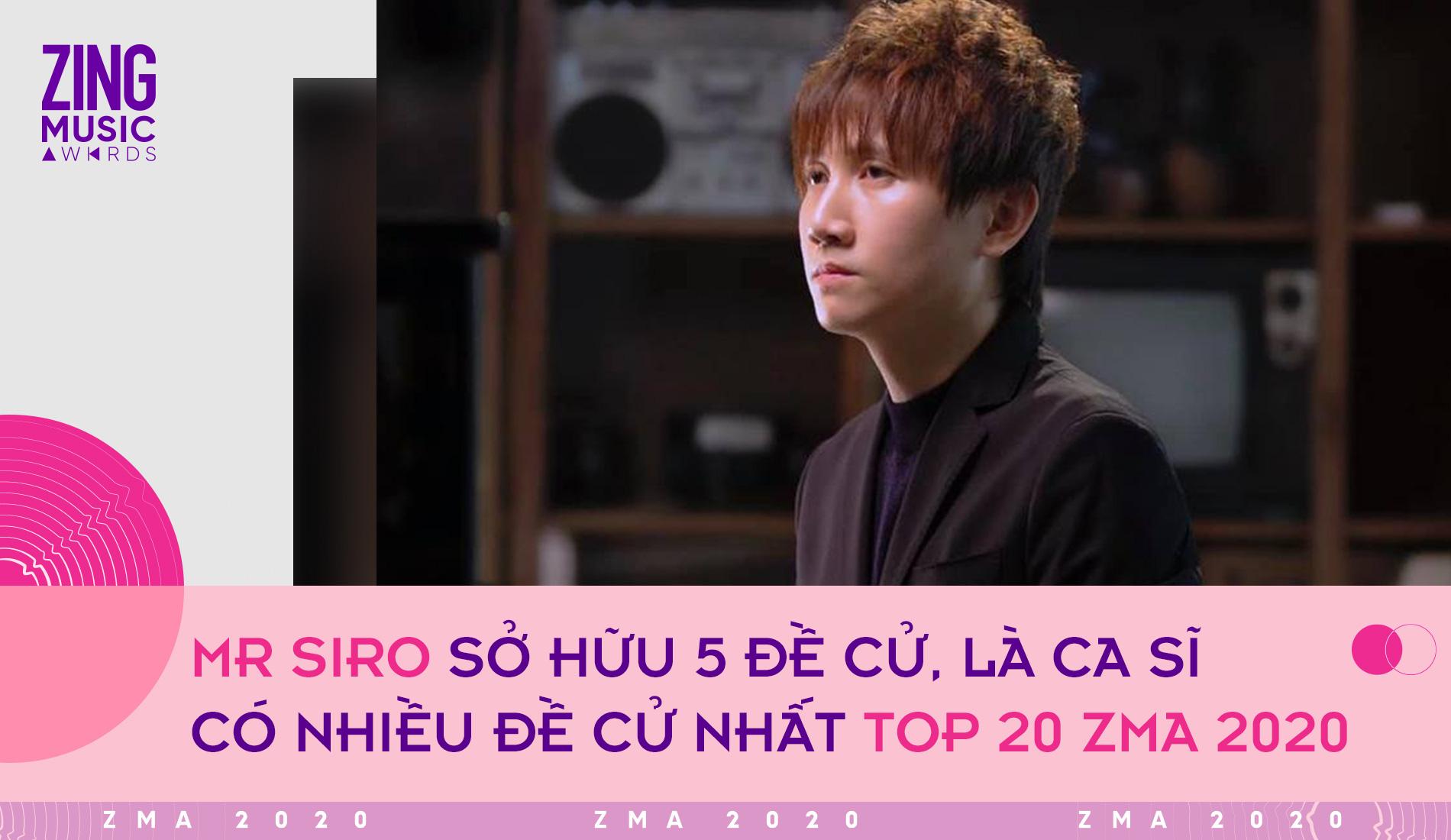 Top 20 giải Zing Music Awards: Binz là rapper có nhiều đề cử nhất, K-ICM vượt mặt Jack - Ảnh 1.