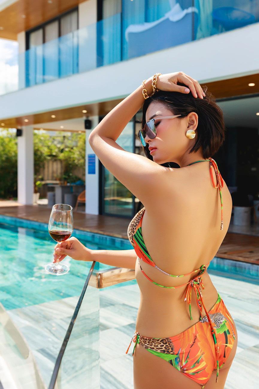 """Mỹ nhân cao 1,75m đẹp như """"chị em sinh đôi"""" với Tăng Thanh Hà mặc bikini quyến rũ hút mắt - Ảnh 6."""