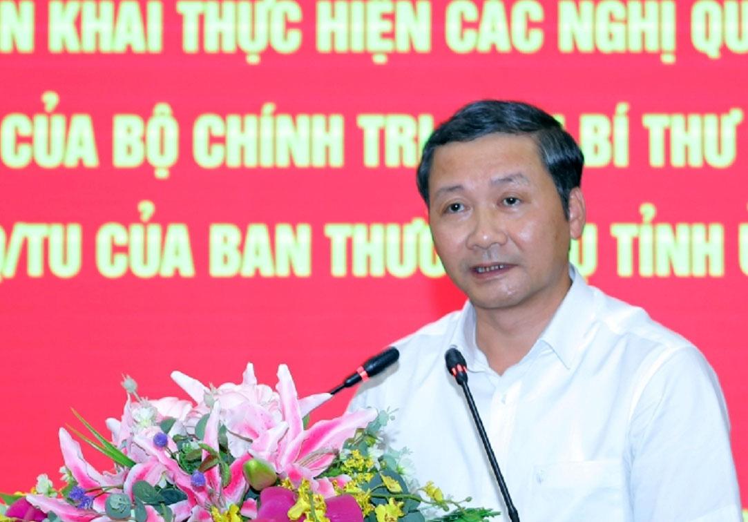 """Tân Chủ tịch UBND tỉnh Thanh Hóa Đỗ Minh Tuấn hứa sẽ """"trọng dân, gần dân, lắng nghe tâm tư, nguyện vọng dân"""" - Ảnh 1."""