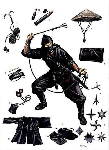 """Cuộc đời huy hoàng ninja """"xuất quỷ nhập thần"""" nổi tiếng Nhật Bản - Ảnh 5."""